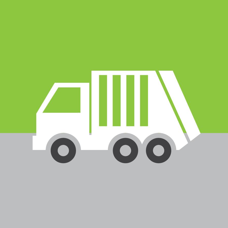 trash truck icon
