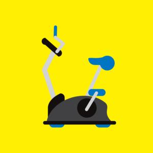 exercise bike icon