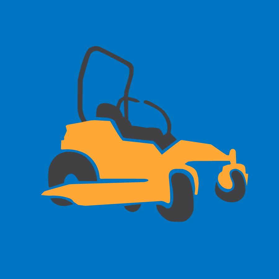 zero-turn mower icon