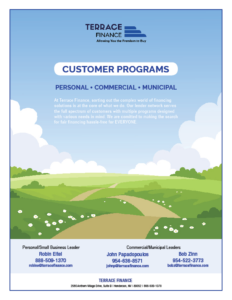Customer Programs Cover Page