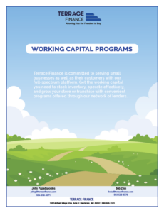 Working capital programs cover page