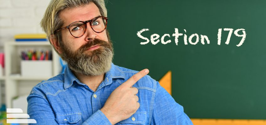 Section 179 teacher