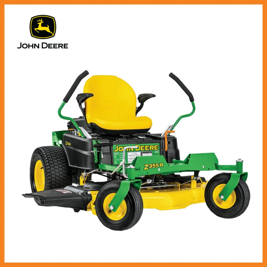 John Deere zero-turn mower