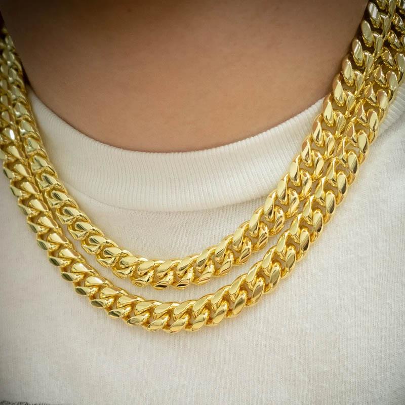cuban link necklaces
