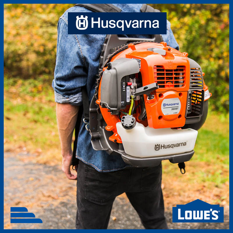 Husquvarna backpack leafblower