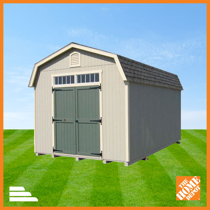 beige shed